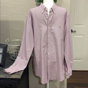 Ralph Lauren Classic fit shirt size XL